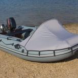 Тент носовой на лодку, Новосибирск