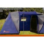 Продам палатку 4 местную с тамбуром по сиридине на две семьи р, Новосибирск