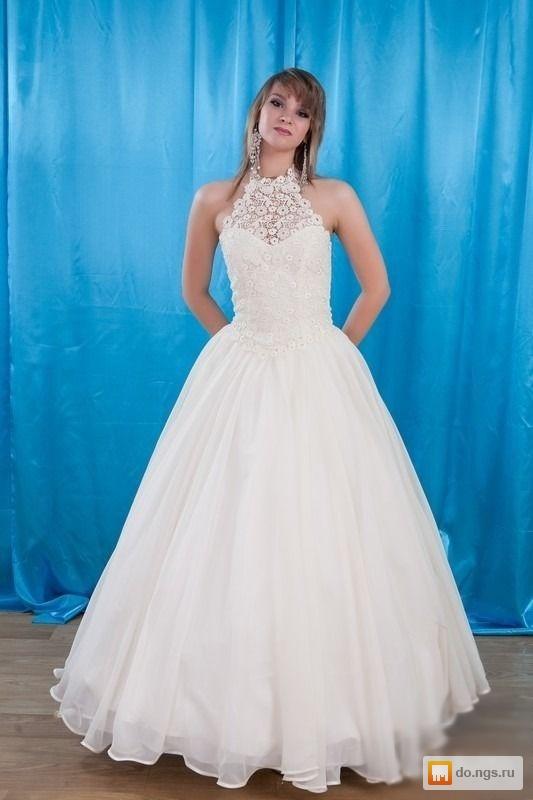 Свадебное  58 размер прокат