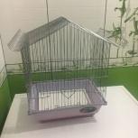 Продам большую и маленькую клетки для попугаев, Новосибирск