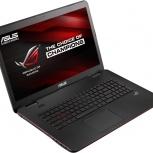 Asus G771JW-T7223T Intel Core i5-4200H X2, Новосибирск