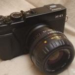 Камера Fujifilm X-E1, MC Zenitar-M2s M42, Новосибирск