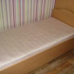 Продам односпальную кровать с матрасом, Новосибирск