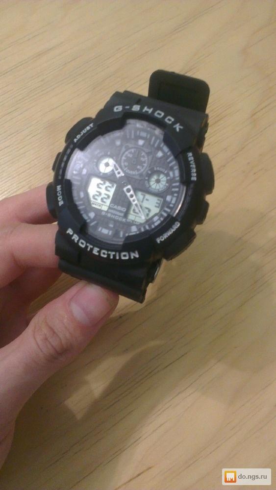 БУ японские часы Casio