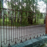 Забор металлический кованный, Новосибирск