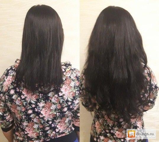 наращевоние волос на дому новосибирск