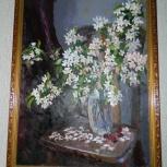 """Картина маслом """"Букет весны"""", Новосибирск"""