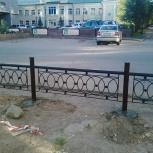 Газонные ограждения, Новосибирск