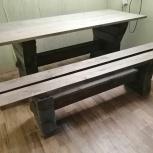 Стол обеденный из массива дерева, Новосибирск