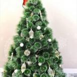 Искусственная новогодняя ель в два раза больше веток, Новосибирск