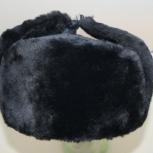 Шапка ушанка из меховой овчины 60 размер, Новосибирск