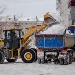 Уборка снега, вывоз снега, Новосибирск