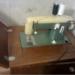Швейная машина ЛАДА с ножным приводом, Новосибирск