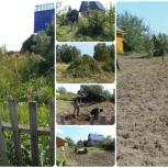 Покос, скос травы. Вспашка земли, культивация почвы мотоблоком, Новосибирск