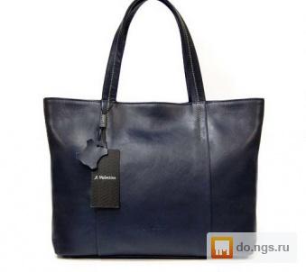 1245414328e2 Темно-синяя кожаная сумка A. Valentino фото, Цена - 4950.00 руб ...