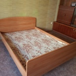 Продам двухспальную кровать б/у, Новосибирск