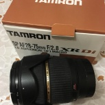 Объектив Tamron SP AF 28-75 F/2.8 for Sony А, Новосибирск