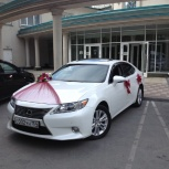 Аренда (прокат) автомобиля LEXUS на Вашу свадьбу, Новосибирск