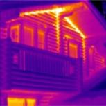 Тепловизионное обследование-Тепловизор - услуги по поиску утечек тепла, Новосибирск