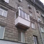 Остекление балкона за 2 дня или бесплатно.Подарок москитная сетка, Новосибирск