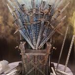 """продажа кресло-трон из сериала """"игра престолов"""", Новосибирск"""