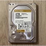 Продам жесткий диск WD gold 4 тб (WD4003fryz), Новосибирск