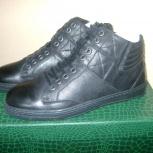 Ботинки новые натур.кожа р-р 39-40, Новосибирск