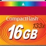 Продам карту памяти Compact Flash (CF) 16GB, Новосибирск
