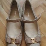 Туфли кожаные для девочки, Новосибирск