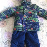 Костюм зимний на мальчика 3-5 лет, Новосибирск
