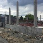 Бетонные работы. Устройство бетонных фундаментов под ключ., Новосибирск