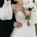 Продам свадебное платье со шлейфом, Новосибирск