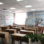 Школьные парты со стульями, Новосибирск