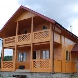 Возводим деревянные, каркасные дома, Новосибирск