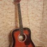 Продам импортную  гитару Naranda, новая, Новосибирск