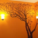 Художественная роспись стен, Новосибирск