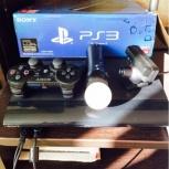 Sony PlayStation 3 SS + Мув и камера, Новосибирск