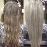 Кератиновое выпрямление волос, экспресс реконструкция, полировка волос, Новосибирск