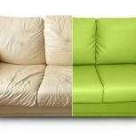 Перетяжка угловых диванов, кресел, кухонных уголков, стульев, Новосибирск