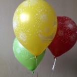 Воздушные шары на День Победы, Новосибирск
