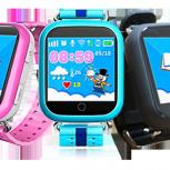 Детские часы с GPS трекером Smart Baby Watch Q200, Новосибирск