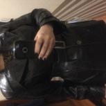 Продам новую кожаную куртку р48-52, Новосибирск