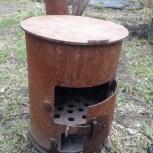 Продам печь-буржуйку, Новосибирск