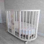 Кровать-трансформер детская Эстель + матрас, Новосибирск