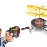 Бластер ховертек с мишенью-дроном для юных стрелков, Новосибирск