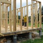 Зимой и летом строим каркасные, деревянные дома, Новосибирск