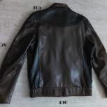 Куртка мужская эко-кожа, Новосибирск