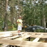 Строительство домов бань из бруса, Новосибирск