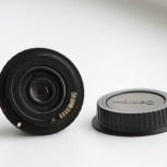 Объектив Индустар 50-2 (50/3.5) на Canon EF с переходником Одуванчик, Новосибирск