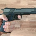 Пневматический пистолет Colt Government 1911 для спортивной стрельбы, Новосибирск